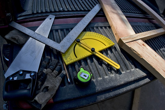 Tools for building trusses